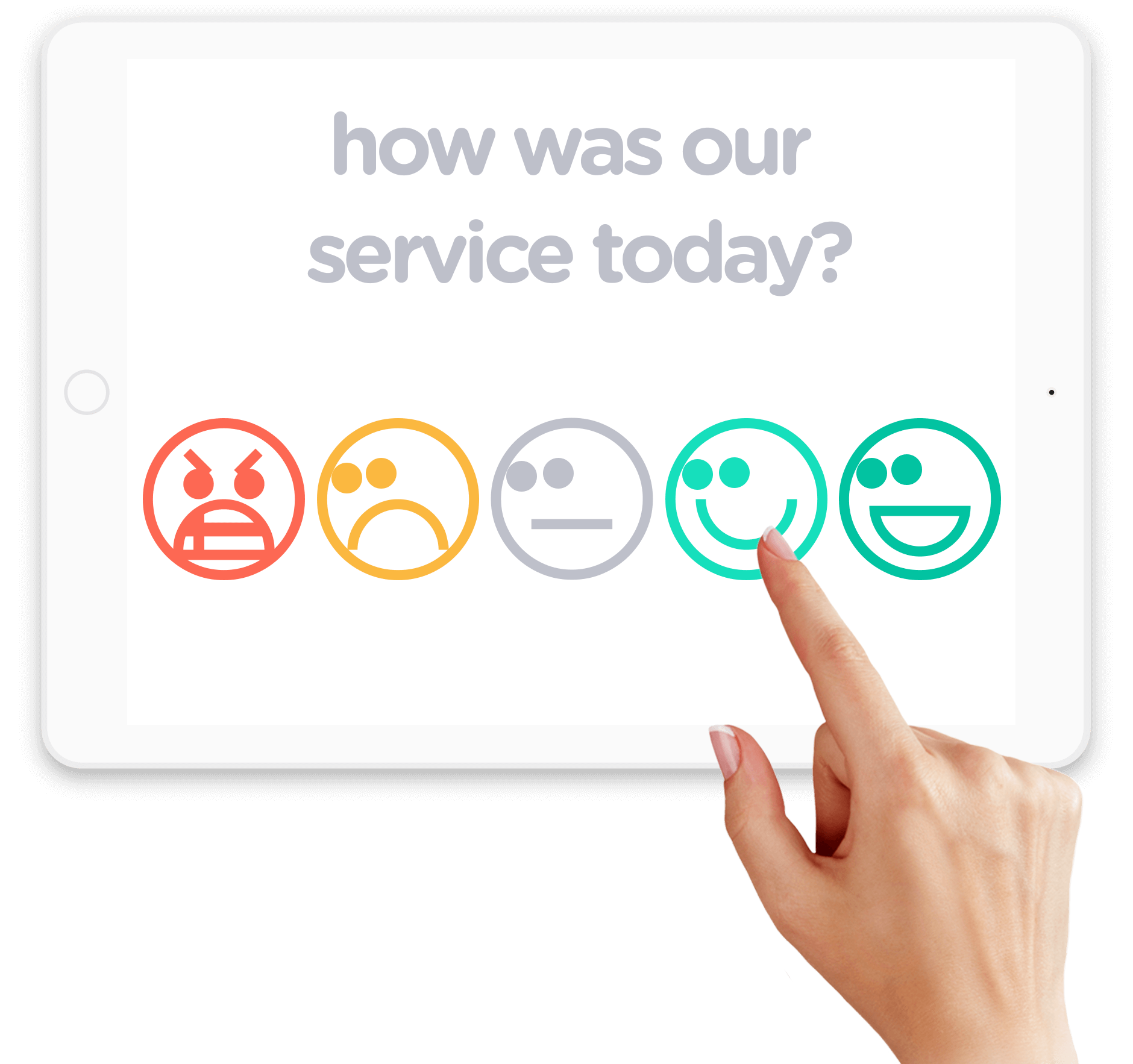 Smiley Surveys - Surveyapp - Tablet surveys