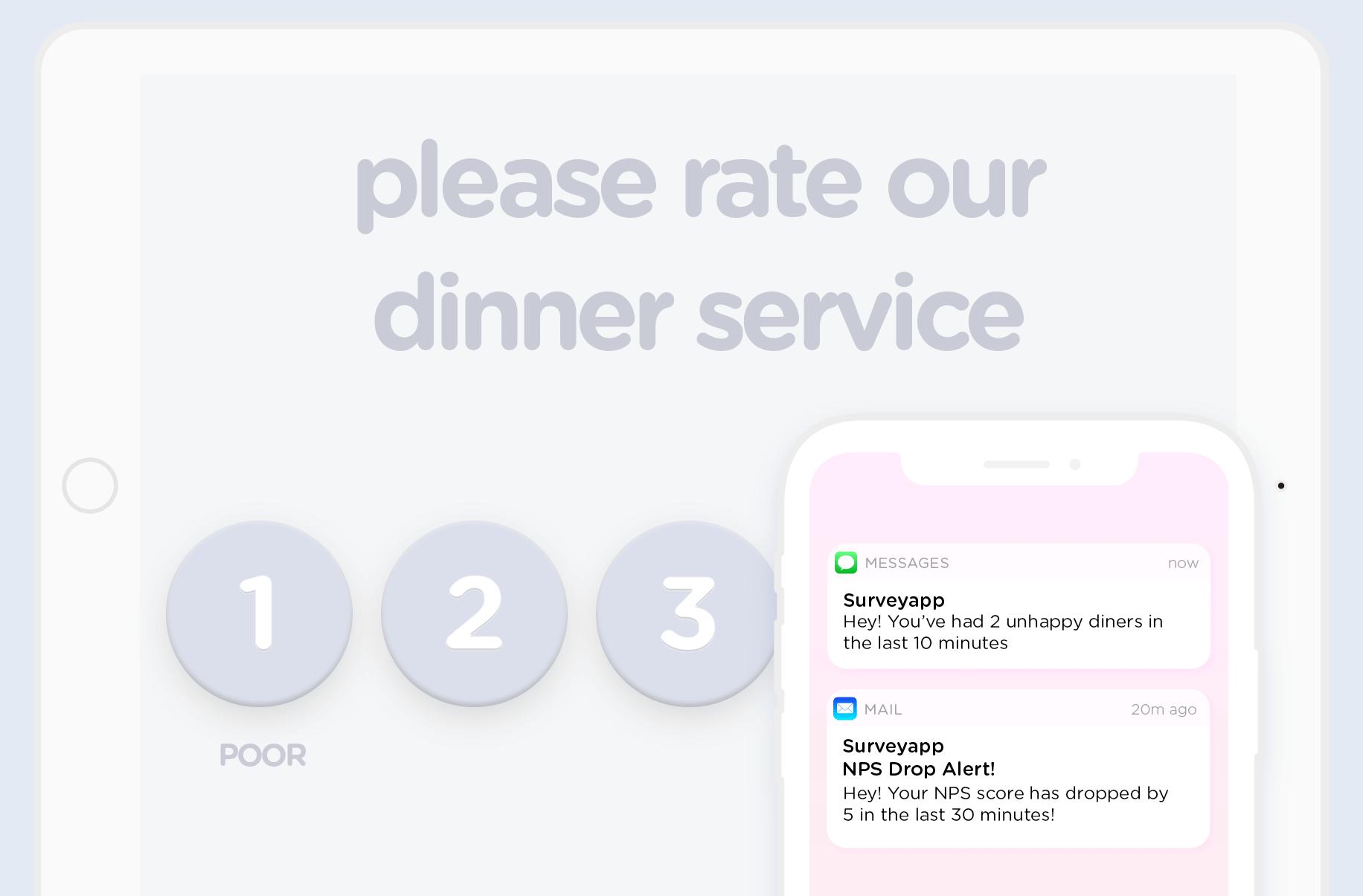 surveyapp for quick service restaurants surveyapp tablet surveys